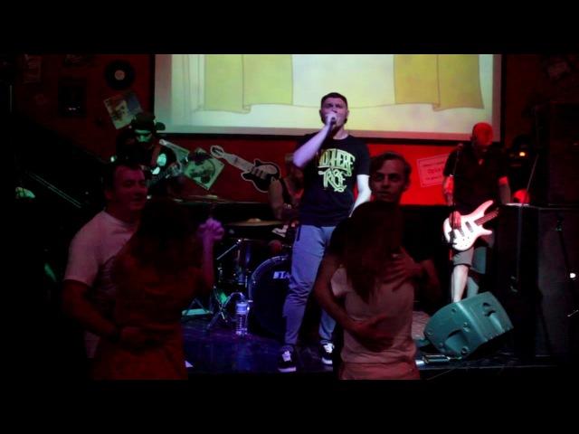 Limp Bizkit - Behind Blue Eyes live ( 8 ног cover )