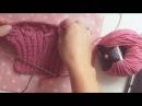 Свитер спицами Рубан/ свитер спицами Pudra от Nika Knit/ вяжем рукав /основы