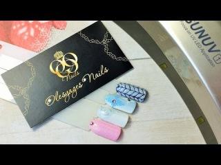 Гель - Лаки ROXY nail collection ♥Зимние дизайны♥снежинка♥вязка♥голубые розы♥