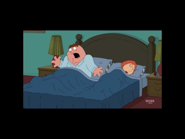 Peter Griffin's sleep condition