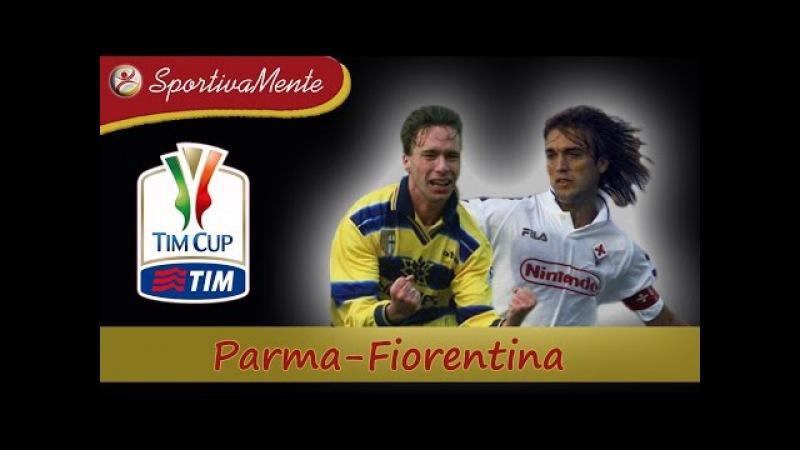 Coppa Italia 1998 99 Parma Fiorentina Finale Andata