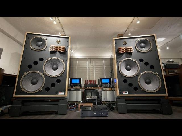 憧れのサウンド World's Greatest Speakers! KRS 4351 Bi-Amping by McIntosh MC1.2KW, DEQX HDP-4, 2x Hugo TT 6