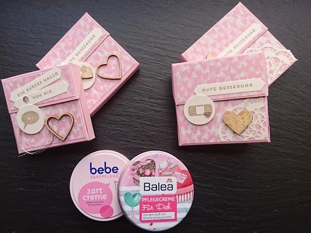 Verpackung für Creme BEBE und BALEA