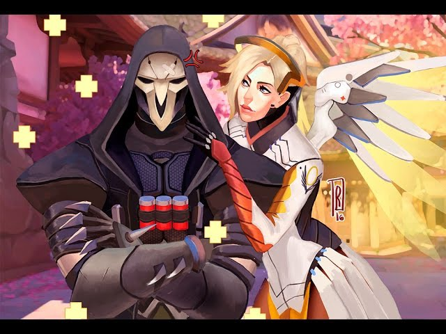 Overwatch | Free Weekend | Reaper (Жнец) | Mercy (Ангел)