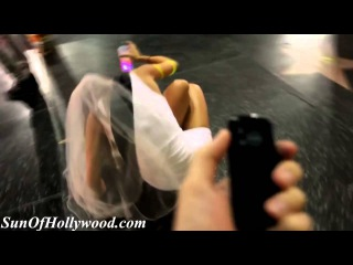 hot girl with vibrating panties on los angeles