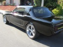 65 Mustang w 3 Exhaust