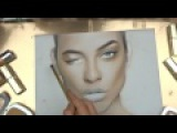 FaceChart  Drawing with Make UP