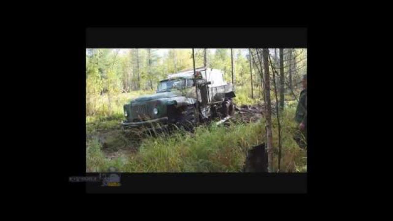 Вездеход на базе Зил 131 и колёсах Т 150