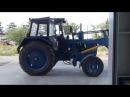 Современный комфорт в старом тракторе МТЗ-80/82- кабина КМТЗ Тел.79284277133