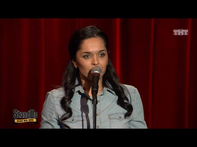 Stand Up Юля Ахмедова О женщинах за рулём женских сериалах и рекламе прокладок