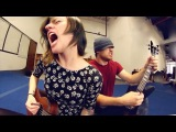 Cannibal Corpse - Evidence in the Furnace (Ukulele cover w/ Sarah Longfield)