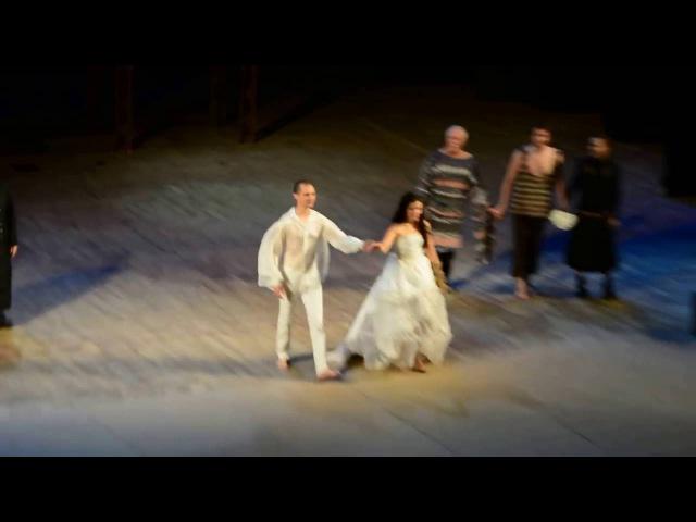 Финальный поклон в спектакле 'Non dolet' в Зимнем театре города Сочи!