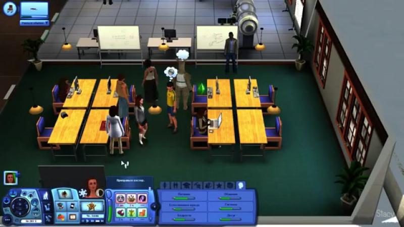 Let's play Sims 3 / Sims 3 Студенческая Жизнь 12 / И Снова Аватар / Stacy
