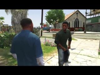 GTA 5 Lamar - 'Nigga' - GTA V Lamar Davis Meme