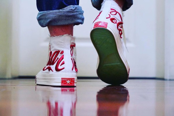 A First Look at the KITH x Coca-Cola x Converse Chuck Taylor All Star