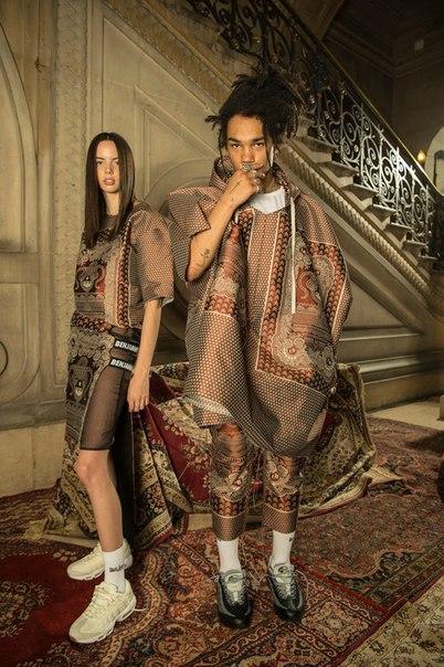 Les Benjamins Reimagines Tribal Tapestries and Ikat Print for 2017-201