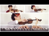 Final Fantasy XIII-2 (Noels Theme) B Rossette Violin Cover - Jun Sung Ahn X Jason Yang
