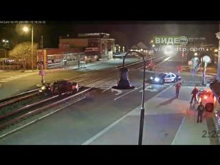 Rare! Car hit by Train at Ashland, VA!! | ДТП авария