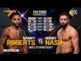 UFC Fight Night 113 Danny Roberts vs Bobby Nash Highlights