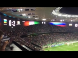 Болельщики сборной России аплодируют игрокам Кот