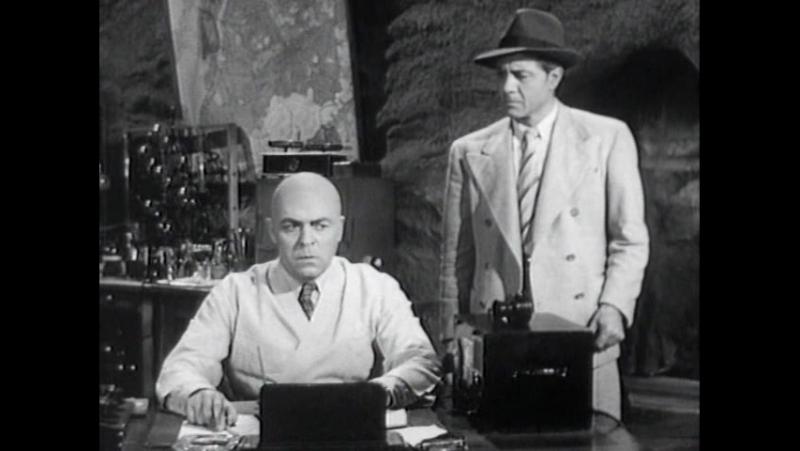 Атомный человек против Супермена. 1950. 9 серия