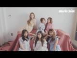 [Marie Claire Korea] 봄꽃처럼 우주소녀
