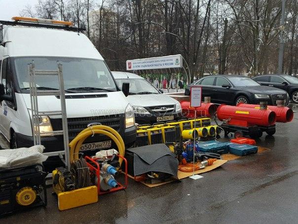 Пожарную и спасательную технику представили сегодня в СЗАО. Фоторепортаж: http://mosszao.ru/news/2017-02-14-159