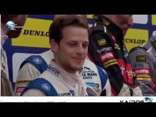 Kairos Technologies Team Greaves Motorsport Champions of European Le Mans Series 2015