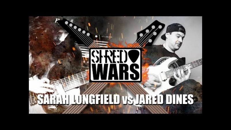 Shred Wars Jared Dines VS Sarah Longfield