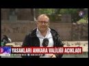 Ankara'da gün battıktan sonra Ateş yakmak şarkı söylemek yasak