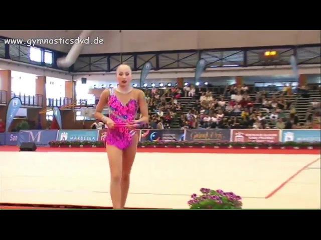 Сабина Аширбаева, булавы (финал), Гран-При 2017, Марбелья