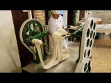 Making Saltwater Taffy at La King's Confectionery on the Historic Strand in Galveston, Texas