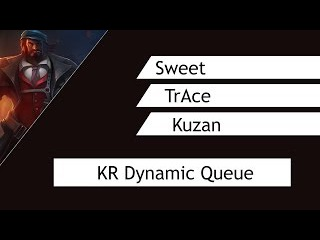 LoL: Sweet (Zyra), TrAcee (Viktor) and Kuzan (Azir) playing KR Dynamic Queue | League of Legends