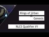 Rocket League Kings of Urban vs. Genesis RLCS Qualifier #1 G4