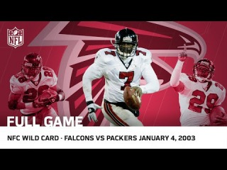 Michael Vick's Historic Upset | Falcons vs. Packers 2002 NFC Wild Card Playoffs | NFL Full Game