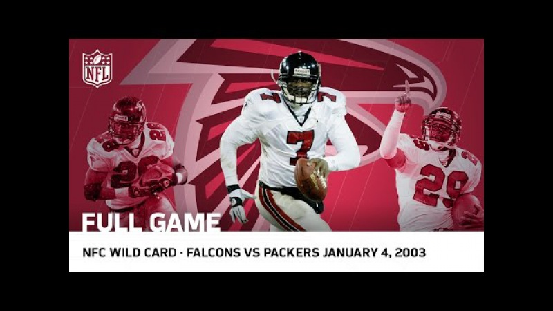 Michael Vick's Historic Upset   Falcons vs. Packers 2002 NFC Wild Card Playoffs   NFL Full Game