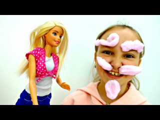 Мультик Барби  #БАРБИ играет с СУМАСШЕДШЕЙ ПЕНОЙ! Новая Серия #куклы Barbie / Виде...