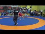 Siarhei Staradub (BLR) VS Felix Baldauf (NOR) GR 98 KG 1/2 FINAL