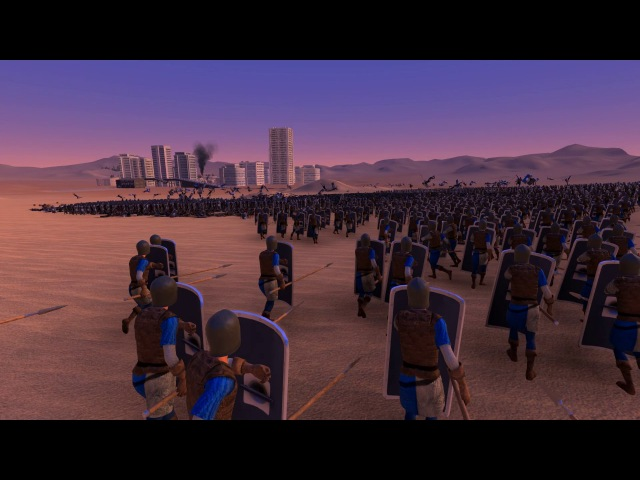 Chuck Norris, 25000 Spearman and 6000 Heavy Knights - Ultimate Epic Battle