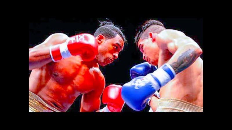 Semifinal de BOXEO Domadores de Cuba vs Heroicos de Colombia. WSB 2017