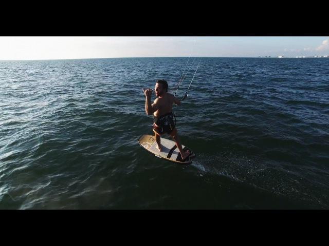 Amazing Kiteboard Foiling Drone Shots!