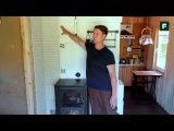 Тепловой щиток из кирпича с печью-камином // FORUMHOUSE
