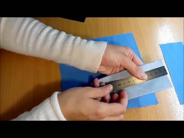 Как сделать Прорезной карман с листочкой Technique Welt Pocket