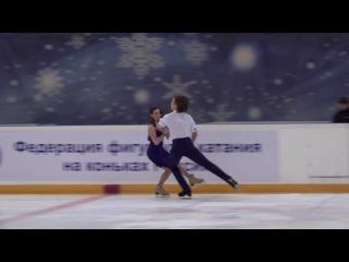 Алла Лобода/Павел Дрозд, КТ, Финал Кубка России 2017
