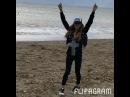 Экс-участница «Дом 2» Анастасия Ковалёва наслаждается прогулкой по берегу моря