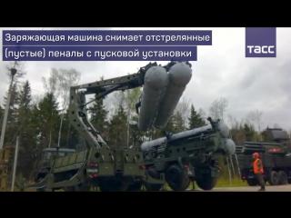 Перезарядка зенитных систем С-400 'Триумф'