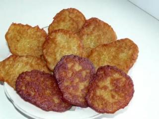 Постные Драники из Картошки без Яиц (белорусская, украинская, русская и еврейская кухня)
