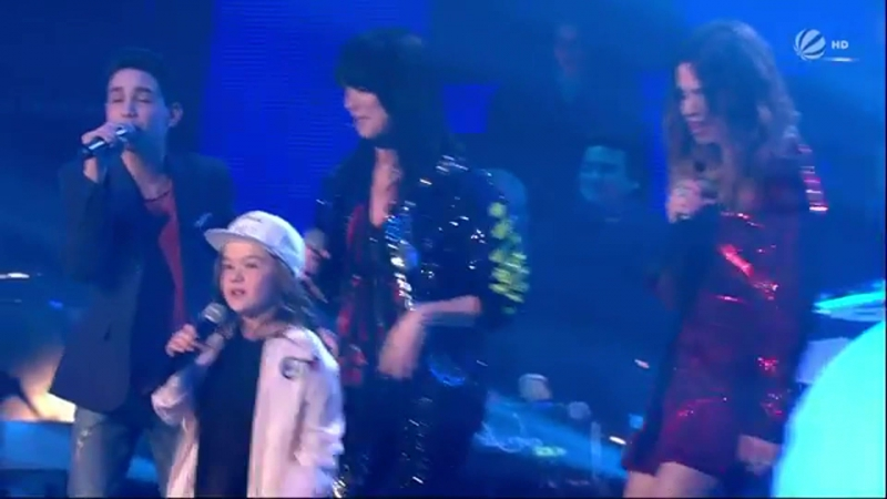 Team Larena - Cant Stop The Feeling (The Voice Kids - 26.03.2017)