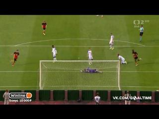 Бельгия - Чехия 1:0. Миши Батшуайи