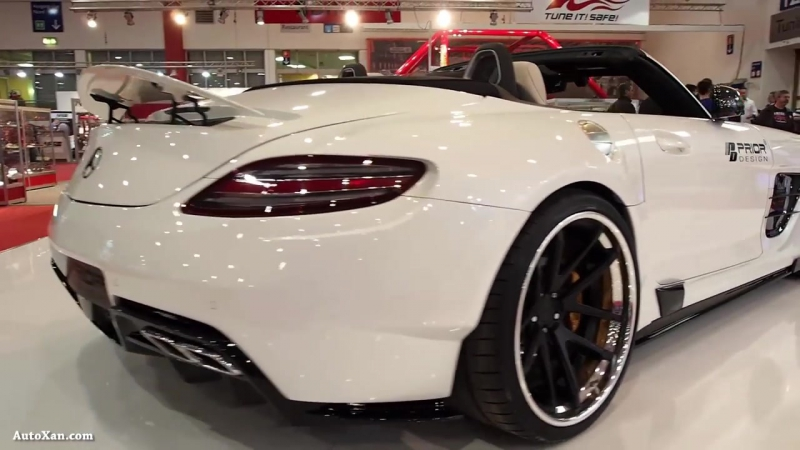 Mercedes Benz SLS AMG Tuning by Prior Design PD900GT Roadster Widebody Aerodynam